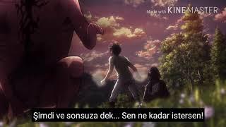 Shingeki No Kyojin - Eren Titanları Kontrol Ediyor [Türkçe Altyazılı / Turkish Sub]