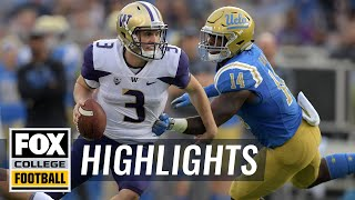 Washington vs. UCLA | FOX COLLEGE FOOTBALL HIGHLIGHTS