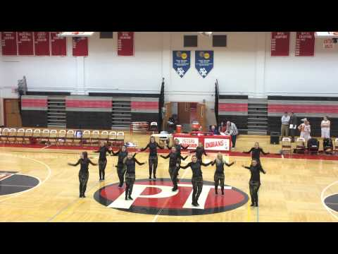 Peters Township Dance Team Varsity BBall Game