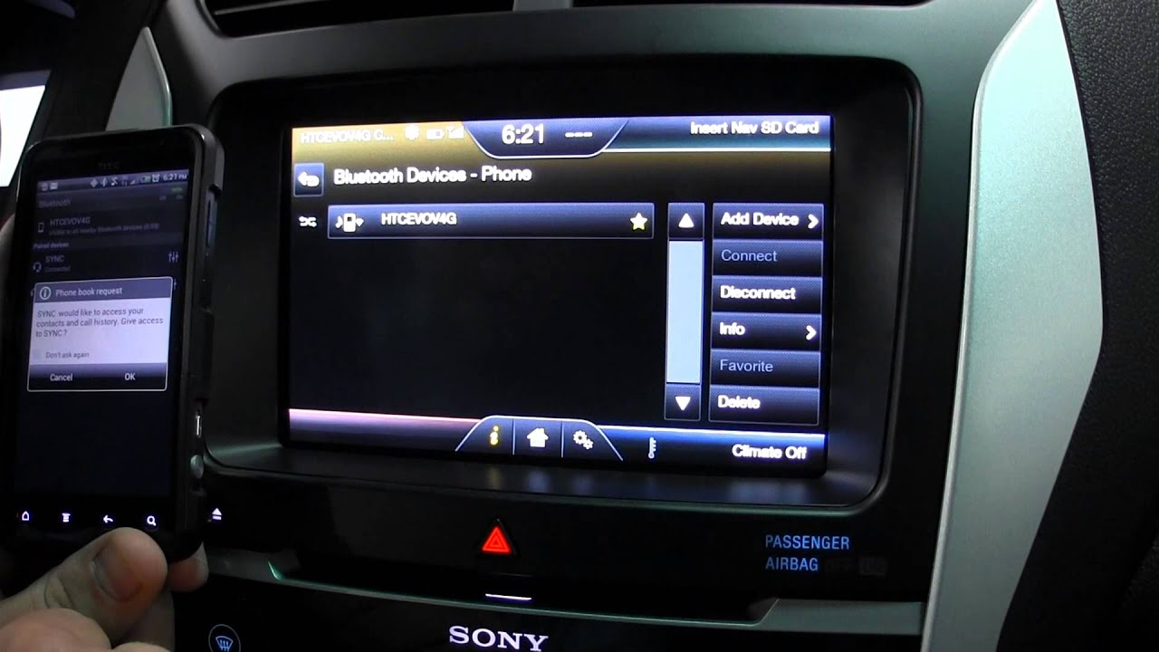 learn how to sync an android phone to your my ford touch system youtube. Black Bedroom Furniture Sets. Home Design Ideas