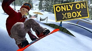 Xbox Launch Exclusive Snowboarding Game | Amped Freestyle Snowboarding / Xbox