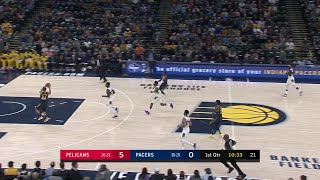 1st Quarter, One Box Video: Indiana Pacers vs. New Orleans Pelicans