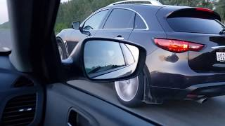 Hyundai Solaris Turbo VS Infiniti FX35 (307 л.с)