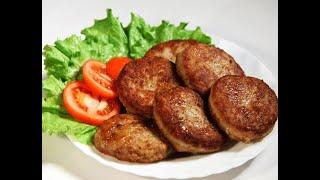 Котлеты по домашнему, сочные вкусные котлеты, рецепт котлет с телятины и свинины ПростоШеф
