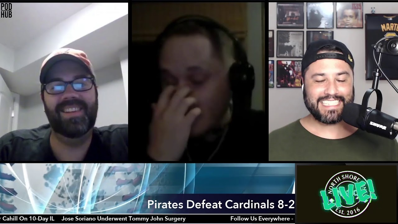 #NS9LIVE! - Pirates Best Top 3 In Baseball?