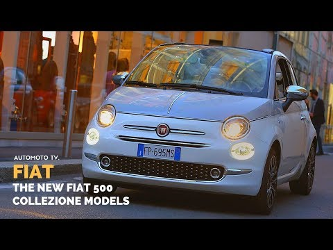Fiat 500 Collezione Model in Fashion Shows Across Europe.