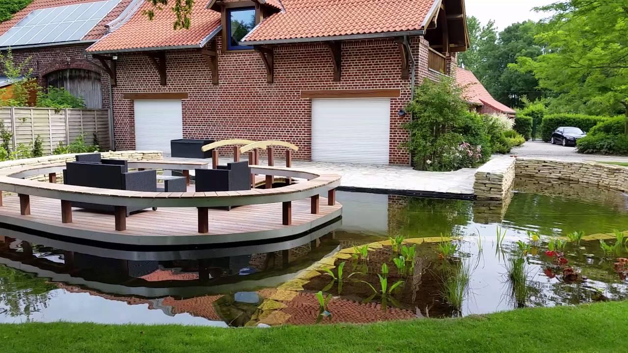 Les jardins de la scarpe bassin d 39 agr ment et vivier for Bassin vivier