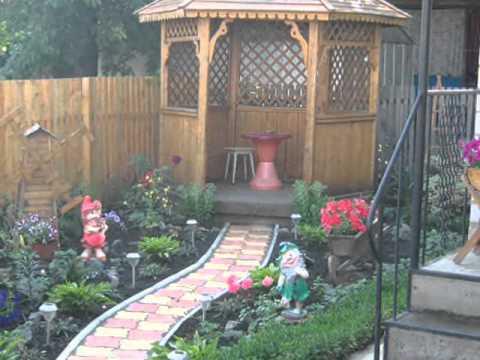 Дизайн садового участка фото. Как оформить сад.