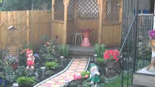 видео Площадка для отдыха на даче