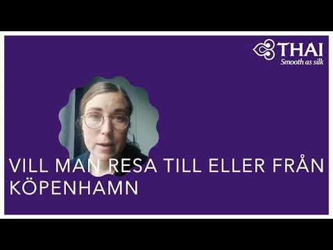 Information Till Passagerare Ombokade Till/från Köpenhamn