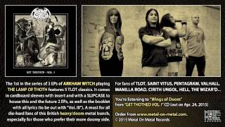 """ARKHAM WITCH """"Wings of Doom"""" (taken from the EP """"Get Thothed Vol. I"""")"""