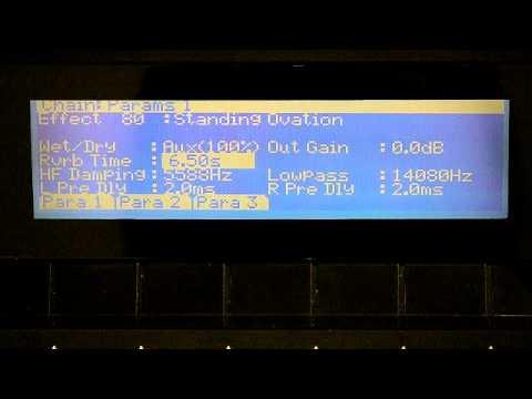 12 Kurzweil PC3 Series: Working with FX Presets