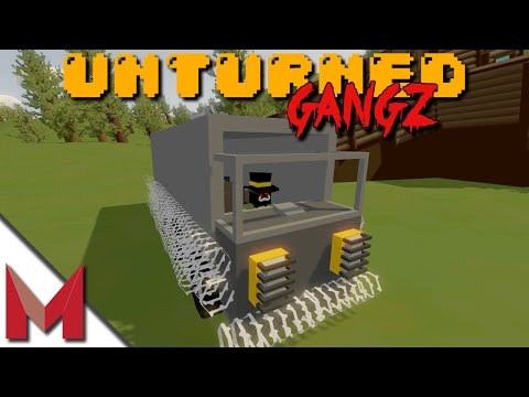 BUILDING THE DEATH TRUCK START TO FINISH -=- UNTURNED GANGZ GAMEPLAY -=- S2E14