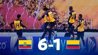 Eliminatorias | Ecuador vs Colombia | Fecha 4