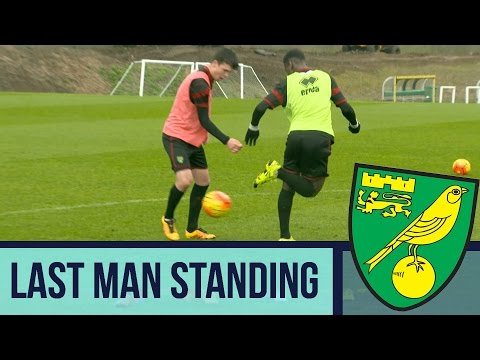 Last Man Standing: Norwich City Academy - Panna Challenge.