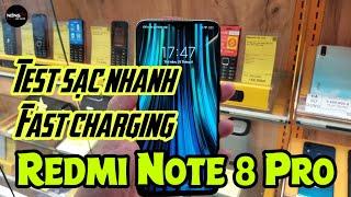 Test sạc nhanh Redmi Note 8 Pro - Khá nhanh ?? | Test Fast Charging on Redmi Note 8 Pro