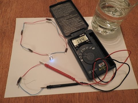 How To Make A Powerful Tap Water Battery MEDELIS BATTERY Free Energy