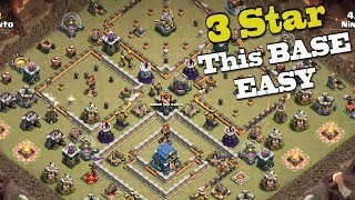 3 Ways to 3 Star this Popular/Internet TH12 Base for Clan War Leagues | CWL Clash of Clans