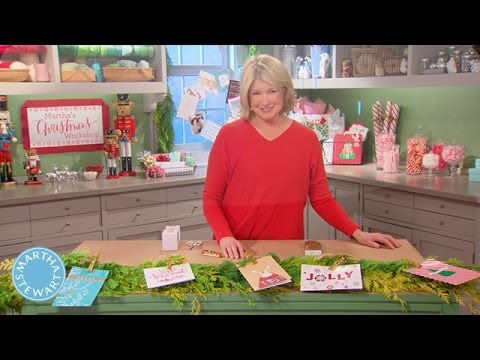 Creative-Ways-to-Display-Holiday-Cards-Martha-Stewart
