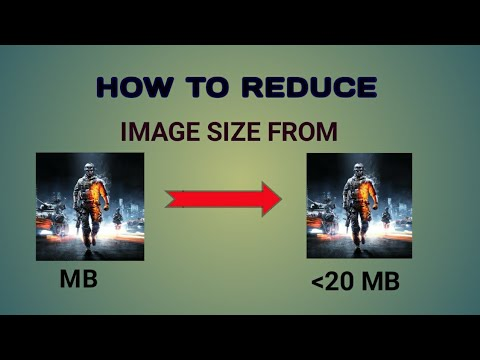 How to Reduce a Image size Less than 20KB - YouTube