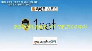 제7회 김소영 오픈리그 상위리그 결승전