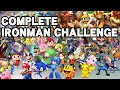 Win with EVERY Character? | For Glory IRONMAN CHALLENGE (SSB4) ~ 70K