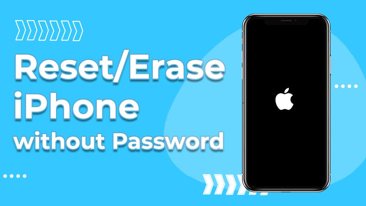 Reset iPhone without Apple ID and Password [20 & iOS 20 Supported]