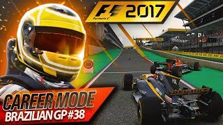 F1 2017 Career Mode Part 38: CRASH IN THE PITLANE
