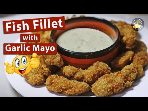 how to make garlic sauce for fish fillet