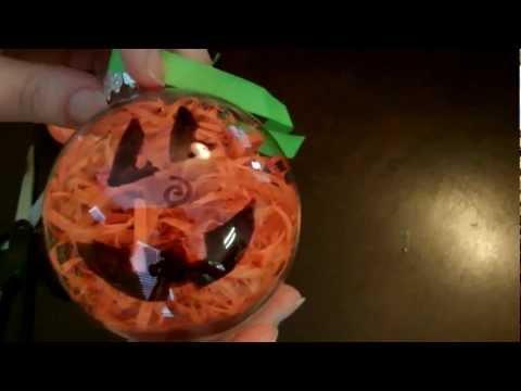 DIY Halloween Jack-O-Lantern or Pumpkin Decoration/Craft $5