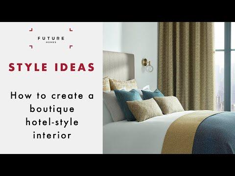 Boutique Hotel–Style Interior Ideas
