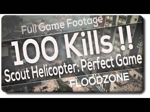 100 - 0 | Battlefield 4 - Scout Helicopter - Max Tickets with NOOBS |