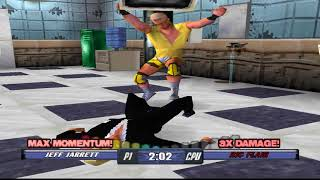 WCW Backstage Assault Matches - Jeff Jarrett vs Ric Flair (REQUEST)