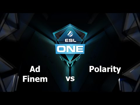Polarity vs AF Game 1 - ESL One Frankfurt EU - @GBCasts @heen1337