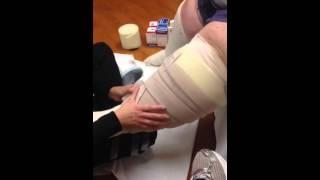 Bandage wrap for Janet