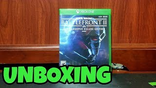 Baixar Star Wars Battlefront II DELUXE EDITION UNBOXING! (Xbox One X)