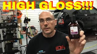 Will This Produce The HIGHEST GLOSS Possible For Your Automobile? Polish Angel High Gloss!!