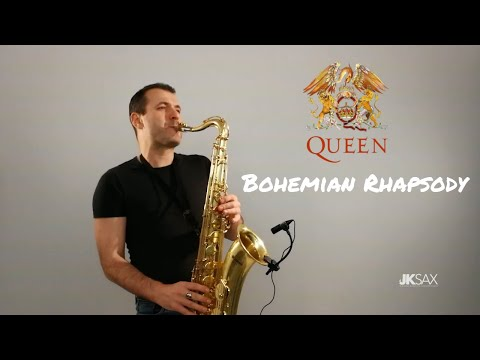 Queen - Bohemian Rhapsody Saxophone Cover by JK Sax
