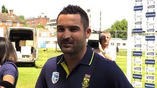 South Africa Cricket Captain Dean Elgar Talks Ahead Of England Clash
