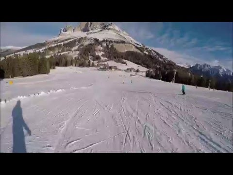 Piste da sci Carezza ski: pista rossa Latemarwiesen
