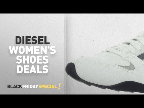 Top Black Friday Diesel Women's Shoes Deals: Diesel Men's Gunner Lace-Up Fashion Sneaker