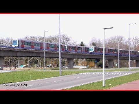 Metro naar Rotterdam CS en Slinge door het Zuiderpark (April 2018)