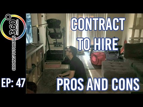 Contract To Hire Pros And Cons | Ask A Dev Episode 47