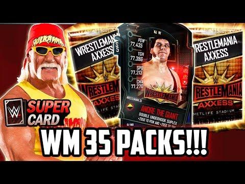 WWE SUPERCARD WRESTLEMANIA