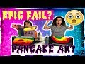 PANCAKE ART CHALLENGE - WHO MADE THE WORST PANCAKE?