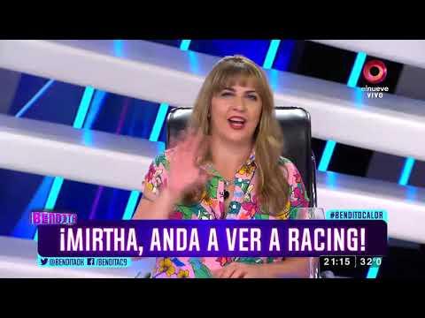 ¡Mirtha, andá a ver a Racing!
