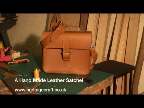 Hand Made Leather Satchel