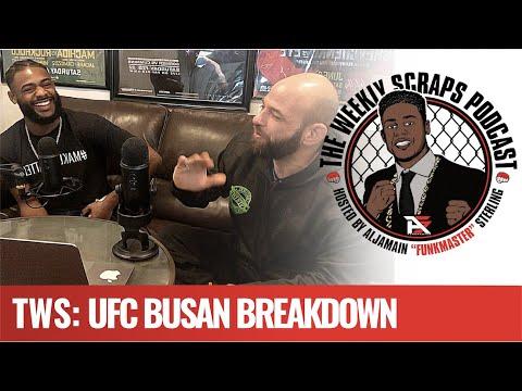 TWS: UFC Busan - Frankie Steps Up Against The Zombie, Matt Schnell