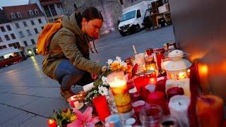 Antisemitischer Angriff: Anwohner in Halle zeigen Anteilnahme