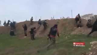 Сирия война 2015 – перестрелки с сирийской армией и боевиками Игил
